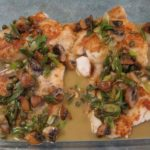 Pan Seared Snapper With Lemon Caper Sauce