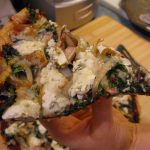 RECIPE REVIEW: BEET PESTO PIZZA WITH KALE AND GOAT CHEESE